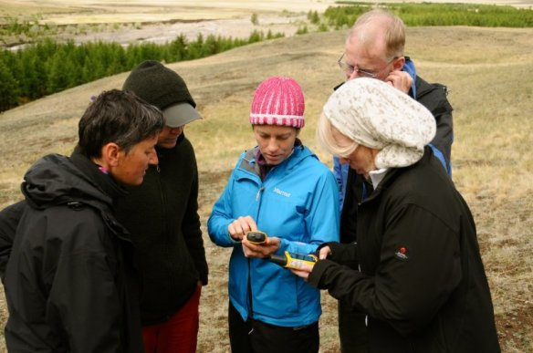 GPS & navigation training session