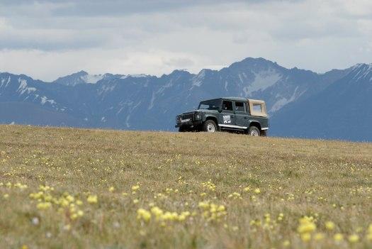 Car park, Altai style