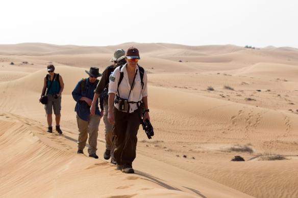 Desert sruvey trek