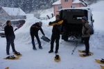 Snowshoe training