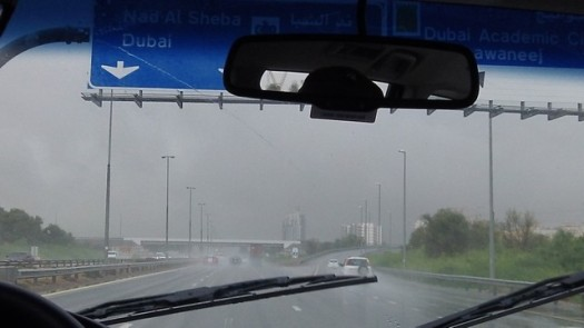 driving to Dubai