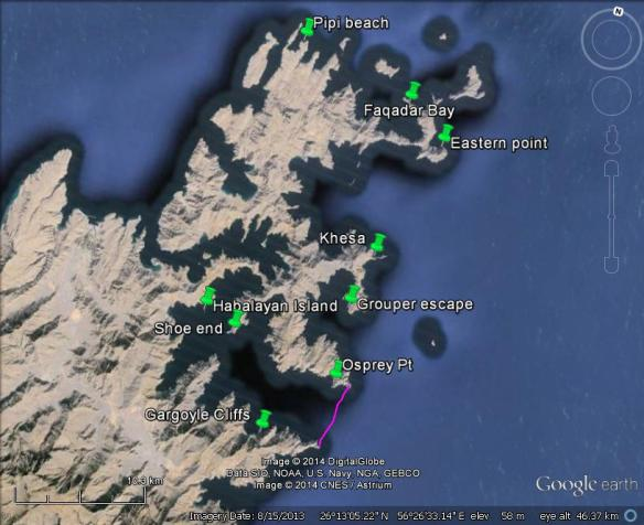 Musandam surveys 2014