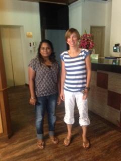 Shidha and Catherine