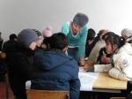 Rahat Yusubalieva directing group work