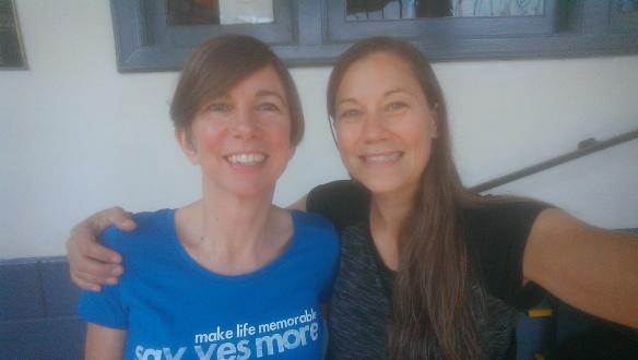 Catherine (left) and Ida