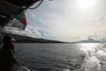 Sailing south of Faial island