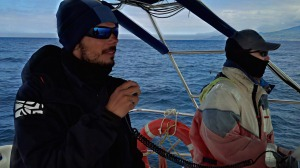 Our skipper and Lisa