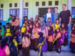 School visit in Tanjung Belit