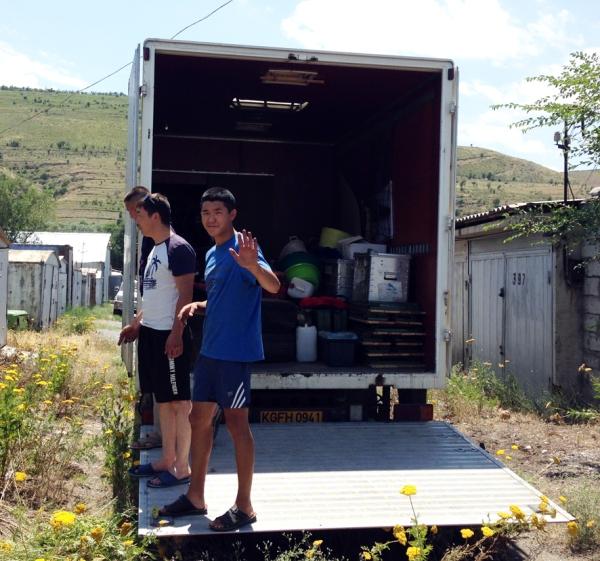 truck at storage 3-7-16