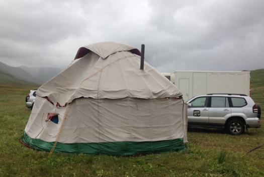 Wonky yurt