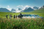 Ausgangspunkt der zweiten Wanderung im Issyk-Ata-Hochtal