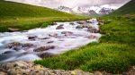 Fluss beim Basislager