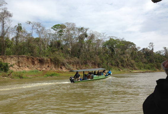 Boat to base