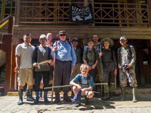 An international expedition team (on a Sumatran tiger expedition)